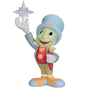 "Reach for the Stars"" Jiminy Cricket Figurine by Precious Moments"