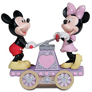 Together We Can Do Anything Minnie and Mickey Mouse Figurine by Precious Moments