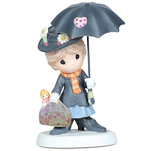 ''You're Practically Perfect in Every Way'' Mary Poppins Figurine by Precious Moments