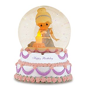 Happy Birthday Cinderella Water Globe by Precious Moments