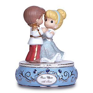 Once Upon a Time Prince Charming and Cinderella Figure by Precious Moments