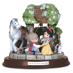 You are My Wish Come True The Prince and Snow White Figure by Precious Moments