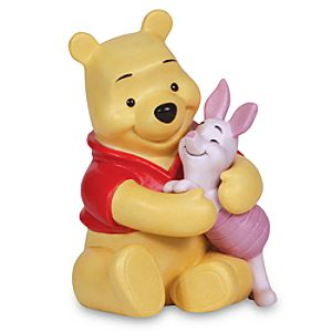 Winnie the Pooh and Piglet Figurine by Precious Moments