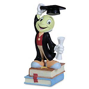 Jiminy Cricket Graduate Figurine by Precious Moments