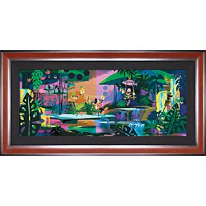 Limited Edition Disney Fine Art Pop! Mickeys Favorite Girl Giclée on Canvas
