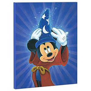 Limited Edition Disney Fine Art Pop! Magic Is In The Air Mickey Mouse Giclée on Canvas