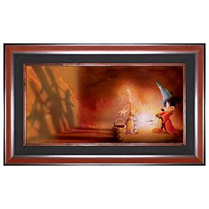 Limited Edition Disney Fine Art Legacy Fantasia Mickey Giclée on Canvas