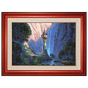 Limited Edition Disney Fine Art Legacy Tangled Giclé on Canvas