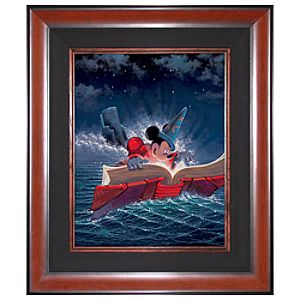 Limited Edition Disney Fine Art Legacy Sorcery Mickey Mouse Giclée on Canvas