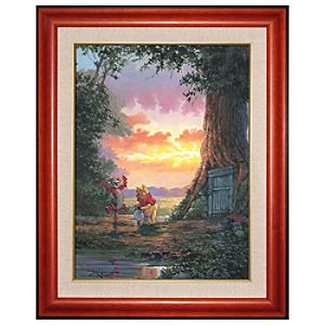 Limited Edition Disney Fine Art Legacy Good Morning Pooh! Giclée on Canvas