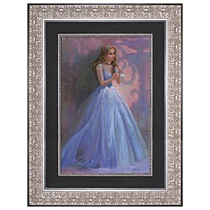 Limited Edition Disney Storytellers Glass Slipper Cinderella Giclée on Canvas