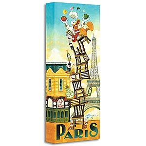 Donalds Paris Giclée by Tim Rogerson