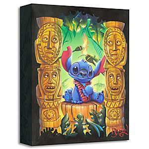 Tiki Trouble Giclée by James C. Mulligan