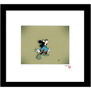 """A Brave Tale"" Mickey Mouse Cel by Courvoisier Galleries"