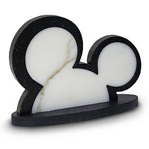 Mickey Mouse Ears Stone Art