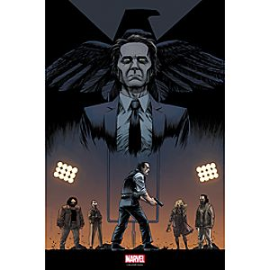 Marvels Agents of S.H.I.E.L.D. One of Us Print - Limited Edition