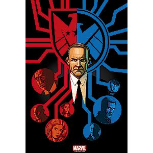 Marvels Agents of S.H.I.E.L.D. Afterlife Print - Limited Edition
