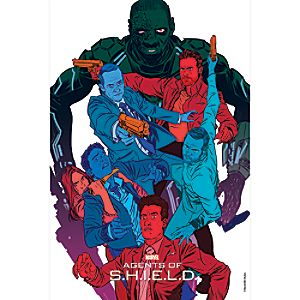 Marvels Agents of S.H.I.E.L.D. The Frenemy of My Enemy Print - Limited Edition