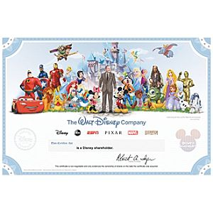 The Walt Disney Company Collectible Shareholder Certificate