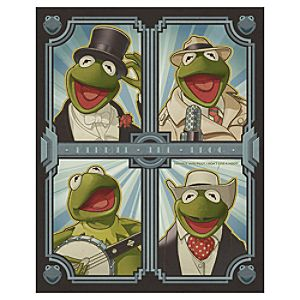 The Muppets Deco Kermit Kermit the Frog Giclée