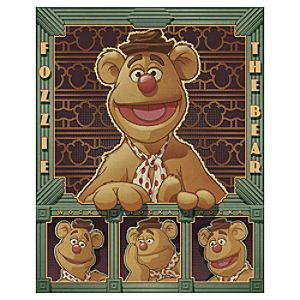 The Muppets Deco Fozzie Fozzie Bear Giclée