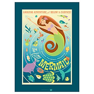 The Little Mermaid Ariel Giclée
