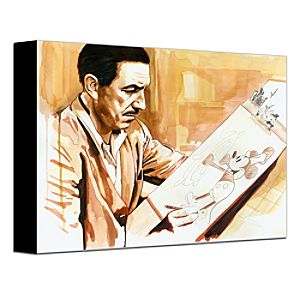 Master at Work Gallery Wrapped Canvas
