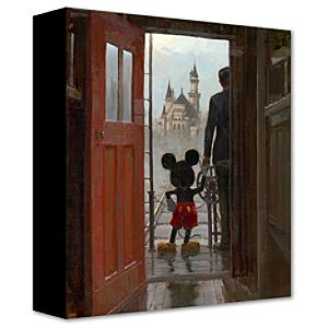 Sharing A Dream Walt Disney and Mickey Mouse Giclée