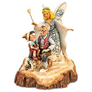 Wishing Upon a Star Pinocchio Figurine by Jim Shore