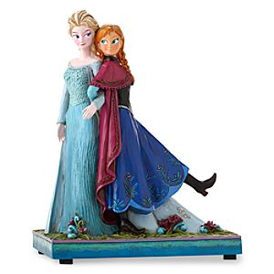 Anna and Elsa ''Sisters Forever'' Musical Figure by Jim Shore