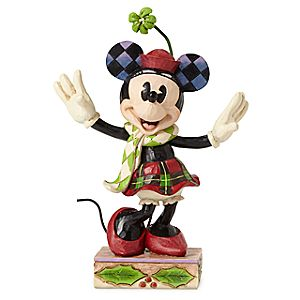 Minnie Mouse Merry Minnie Holiday Figure by Jim Shore