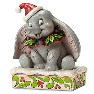 Dumbo Holiday Figure by Jim Shore