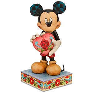 """A Gift of Love"" Mickey Mouse Figurine by Jim Shore"