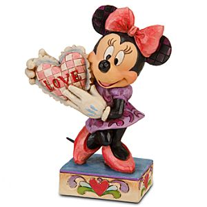 My Valentine Minnie Mouse Figurine by Jim Shore