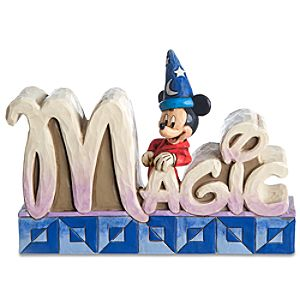 Magic Sorcerer Mickey Mouse Figurine by Jim Shore