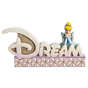 """Dream"" Cinderella Figurine by Jim Shore"