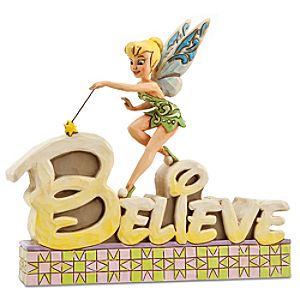 "Believe"" Tinker Bell Figurine by Jim Shore"