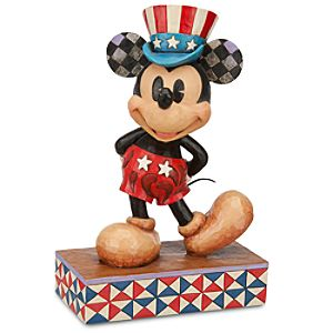 We Salute You Mickey Mouse Figurine by Jim Shore