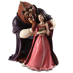 WDCC A New Chapter Begins Beauty and the Beast Figurine