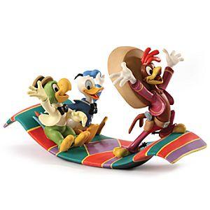 WDCC Airborne Amigos Three Caballeros Figurine