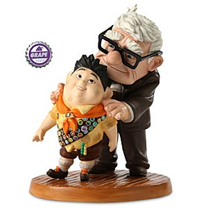 Carl and Russell Figurine - Up - Walt Disney Classics Collection
