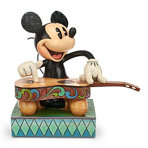 Mickey Mouse Island Melody Figure by Jim Shore