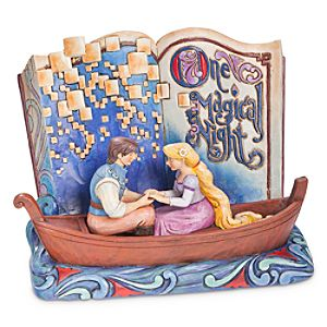 Rapunzel One Beautiful Night Storybook Figure by Jim Shore