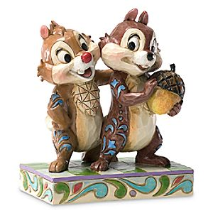 """Chip 'n Dale """"Nutty Buddies"""" Figure by Jim Shore"""