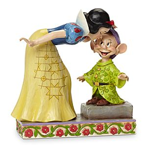Snow White and Dopey Sweetest Farewell Figure by Jim Shore