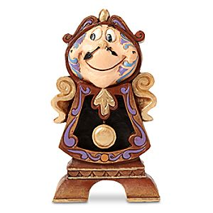 Cogsworth Keeping Watch Figure by Jim Shore - Beauty and the Beast