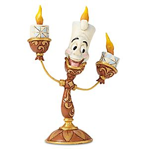 Lumiere Ooh La La Figure by Jim Shore - Beauty and the Beast