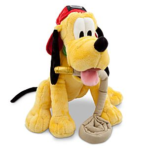 New York Pluto Plush Toy -- 12 H