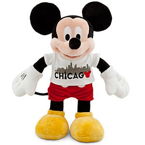 Chicago Tee Mickey Mouse Plush Toy -- 17 H