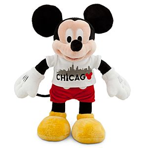 Chicago Tee Mickey Mouse Plush Toy -- 13 H